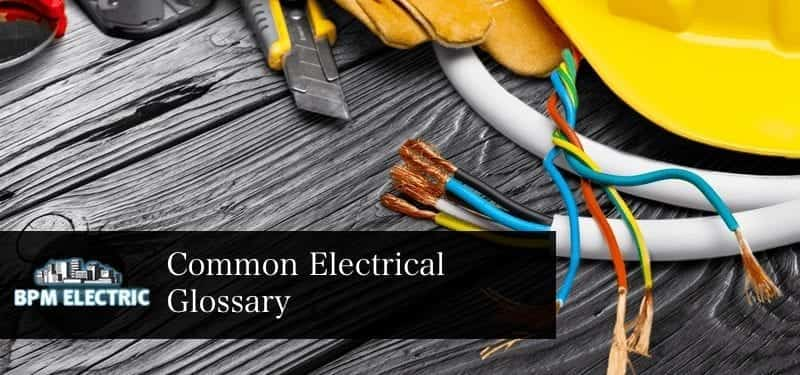common-electrician-glossary-kr