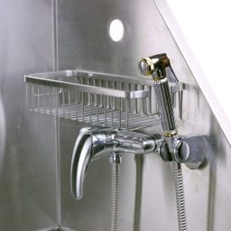dog wash station stainless