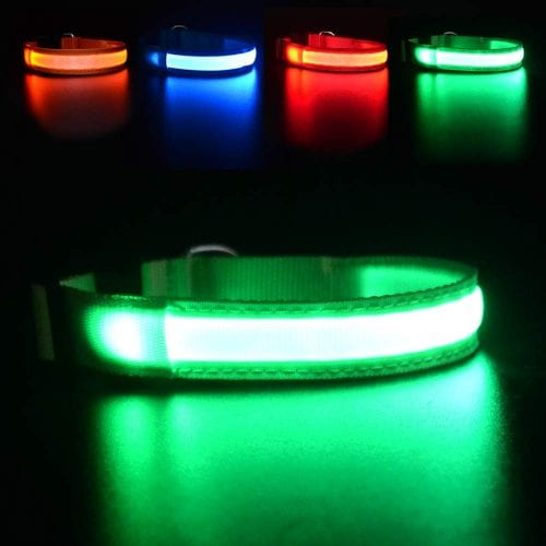 MASBRILL Light Up Dog Collar e1567533239701 - TOP-17 LED Dog Collars in 2019