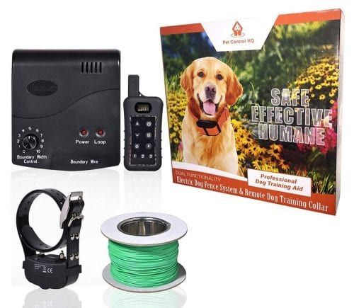 PetControlHQ Wireless Electric Dog Fence System