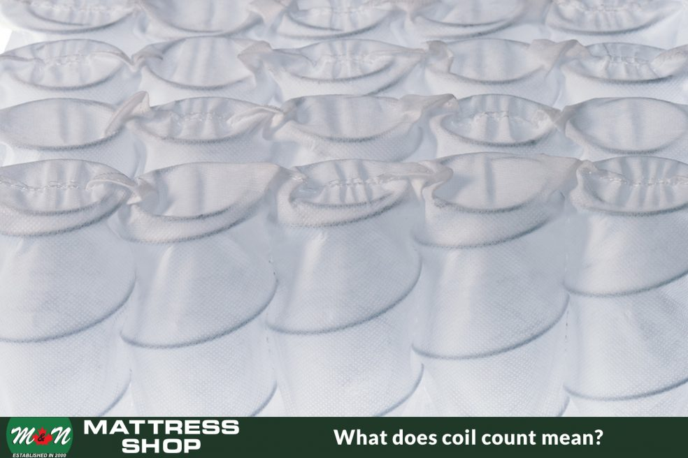 What does the coil count mean in a mattress