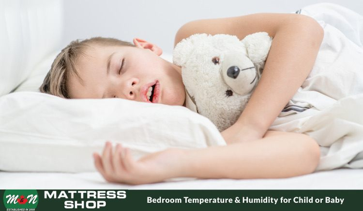 Best temperature humidity for baby child room