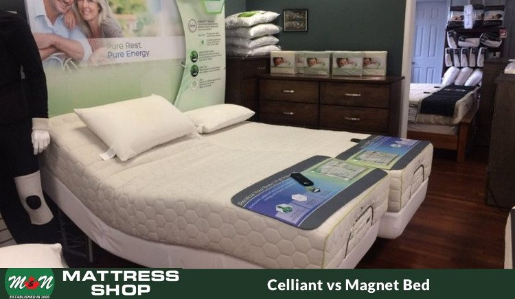 Celliant is better than magnetic bed