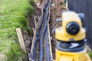 French drain repair