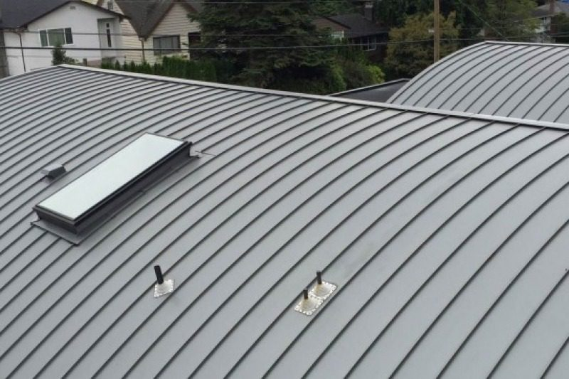 metal roof - custom