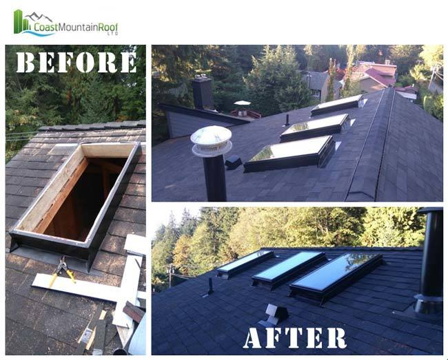 blog skylights before and after