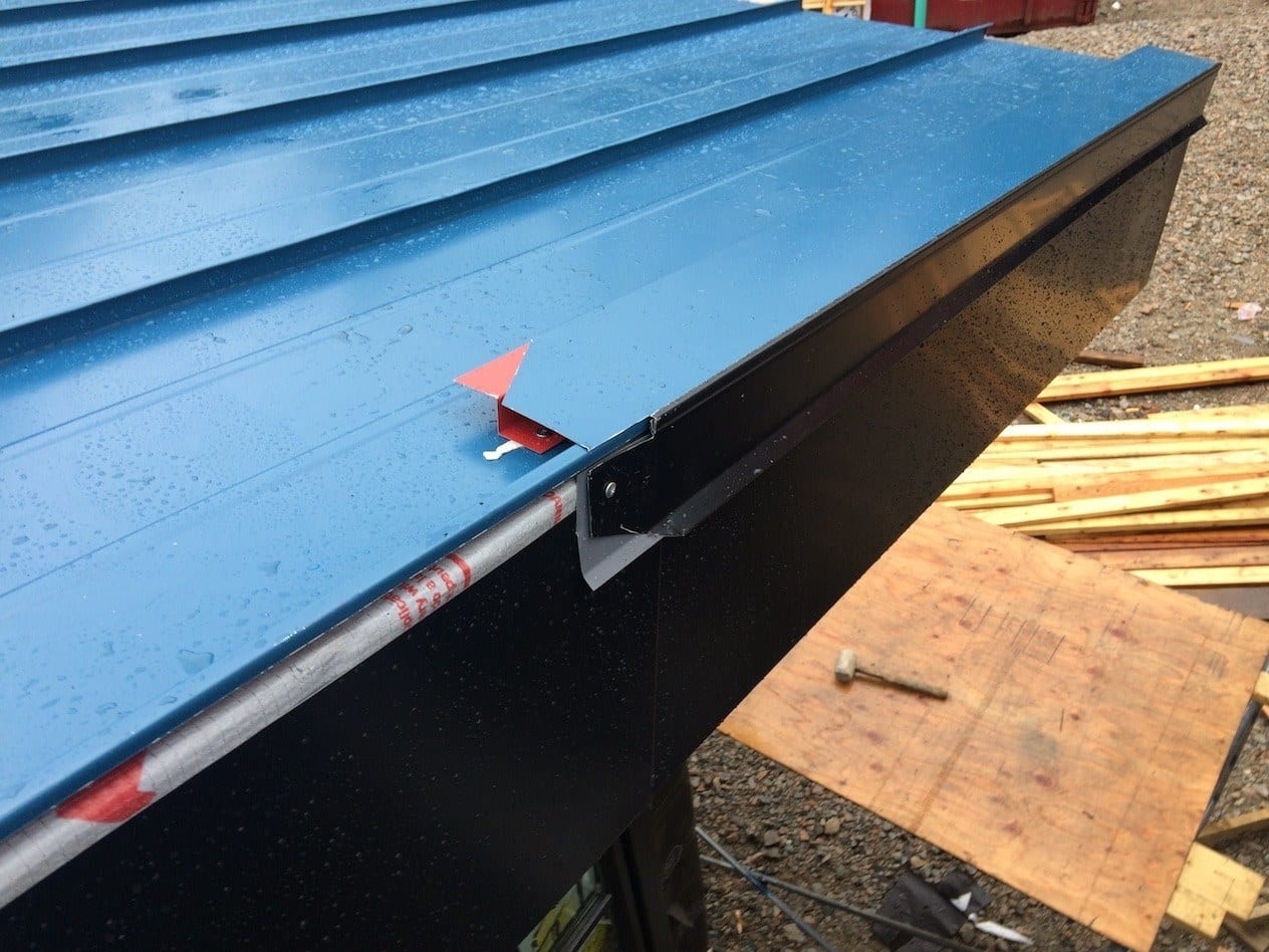 metal roof edges
