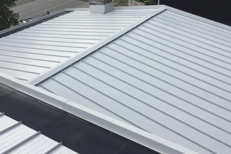 install metal roof low slope