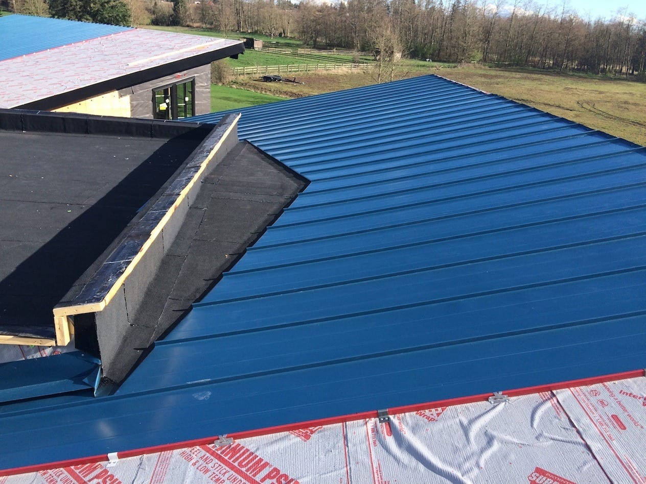 custom metal roof