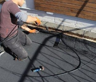 Torch-On Roofing installations for commercial or residential property