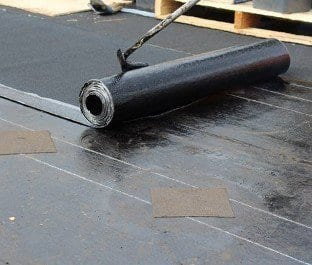 Torch on roof waterproofing