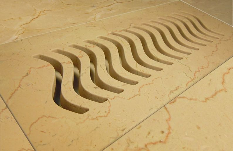 floor vent waterjet cutting13