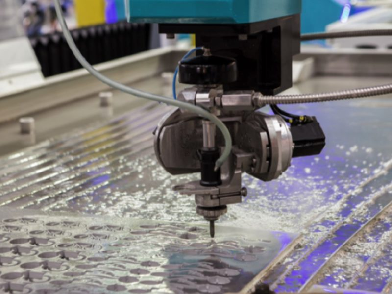Toronto water jet cutting
