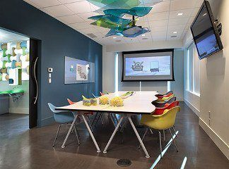 Kids' Orthodontist with Entertainment Room