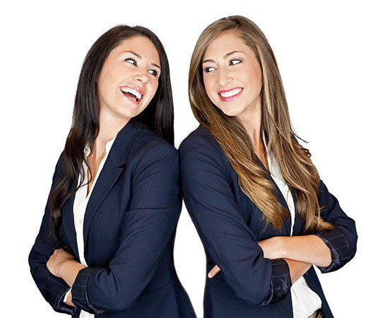 female friends laughing referral